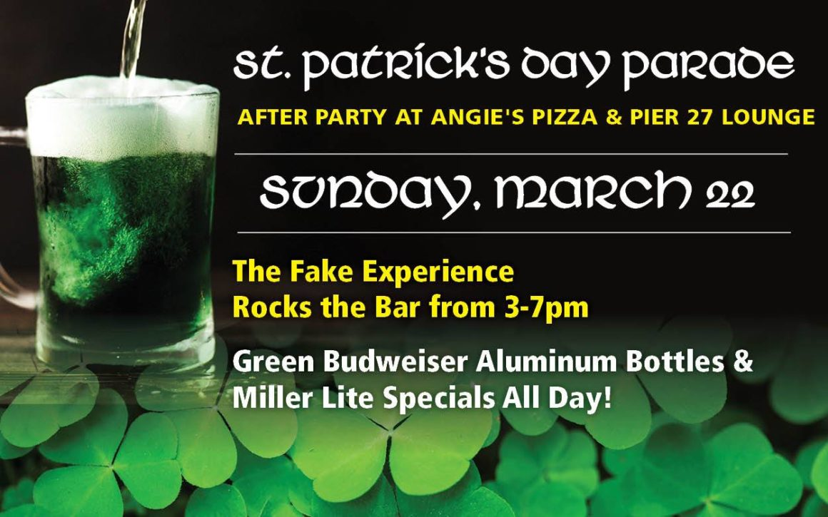 St. Patricks Day Parade After Party!